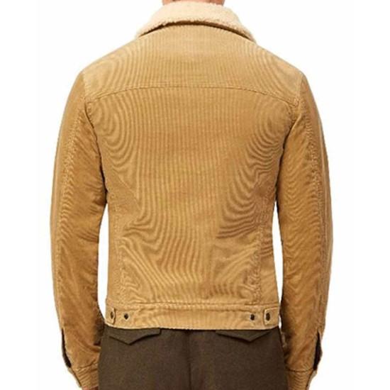 Dear Christmas Jason Priestley Shearling Brown Jacket