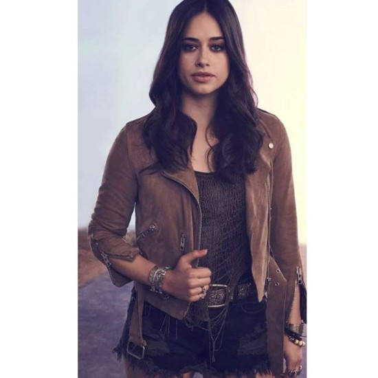 Jeanine Mason Roswell Brown Jacket