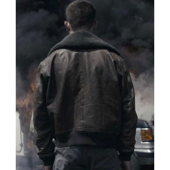 Exodus Jimi Stanton Black Leather Jacket