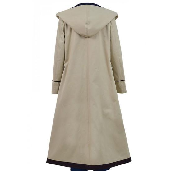 Jodie Whittaker Doctor Who Beige Coat