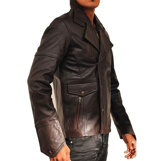 Charlie Wax From Paris With Love John Travolta Leather Jacket
