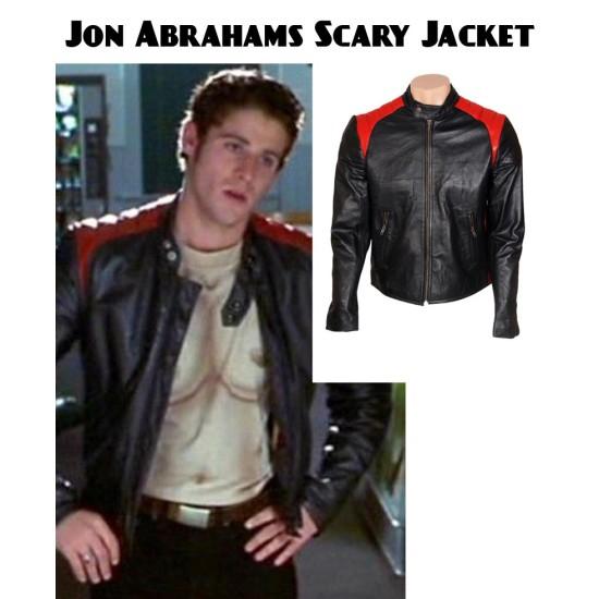 Jon Abrahams Scary Movie Leather Jacket
