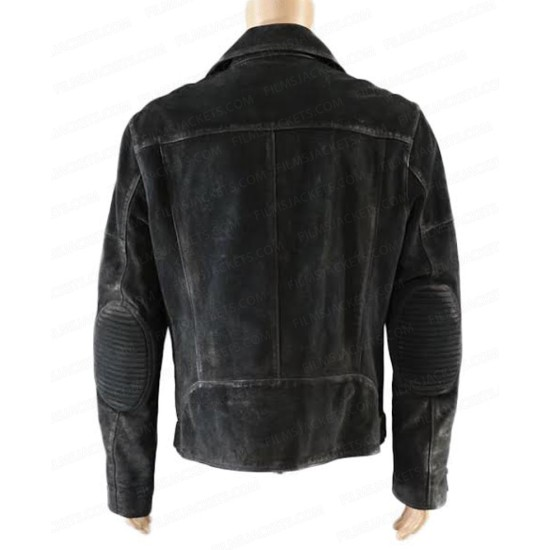 Buddy Baby Driver Jon Hamm Leather Jacket