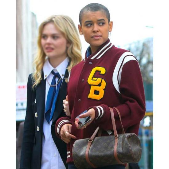 Jordan Alexander Gossip Girl Letterman Jacket