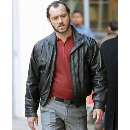 Dom Hemingway Film Jude Law Leather Jacket