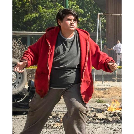 Deadpool 2 Russell Red Jacket