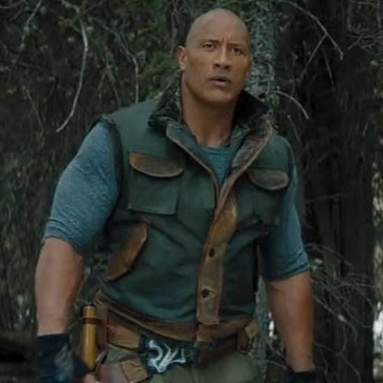 Jumanji The Next Level The Rock Leather Vest