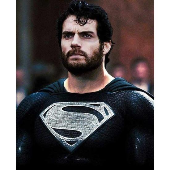 Superman Justice League Leather Jacket