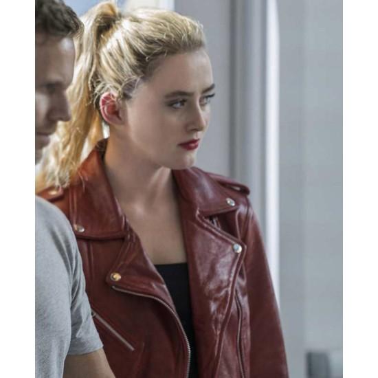 Freaky Kathryn Newton Leather Jacket