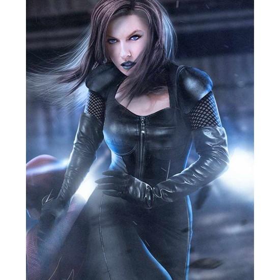 Arrow Black Siren Leather Coat