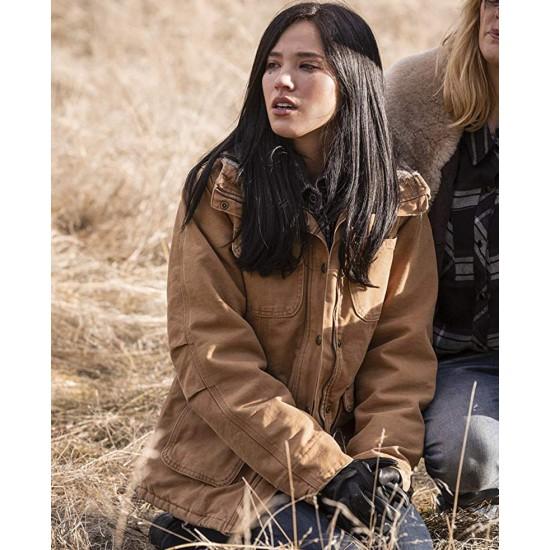 Kelsey Asbille Yellowstone Cotton Jacket