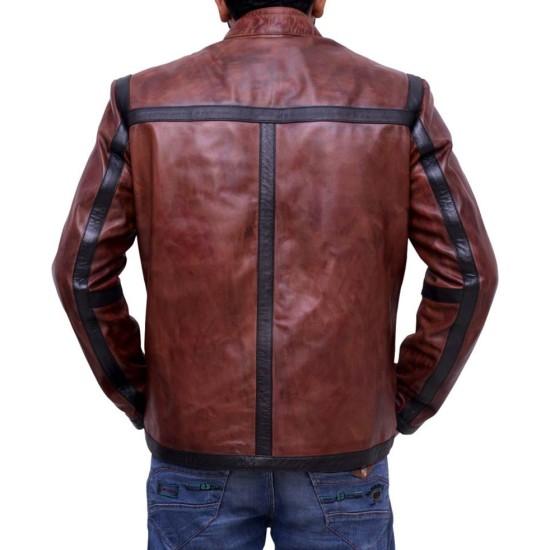 Kevin Alejandro Lucifer Dan Espinoza Leather Jacket