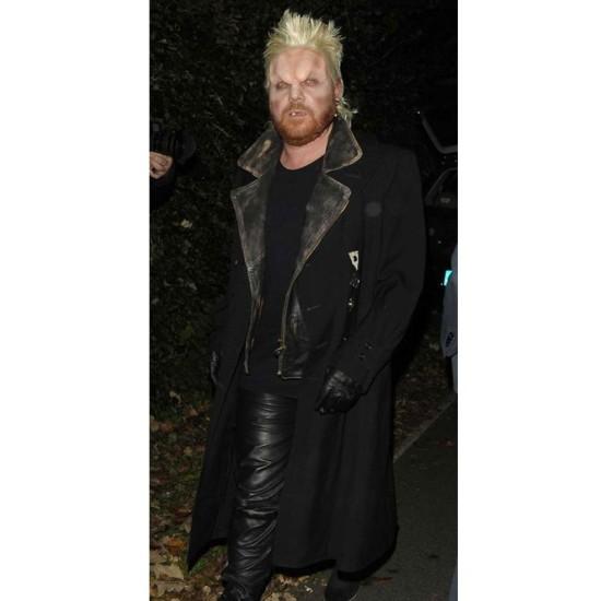 David The Lost Boys Black Coat