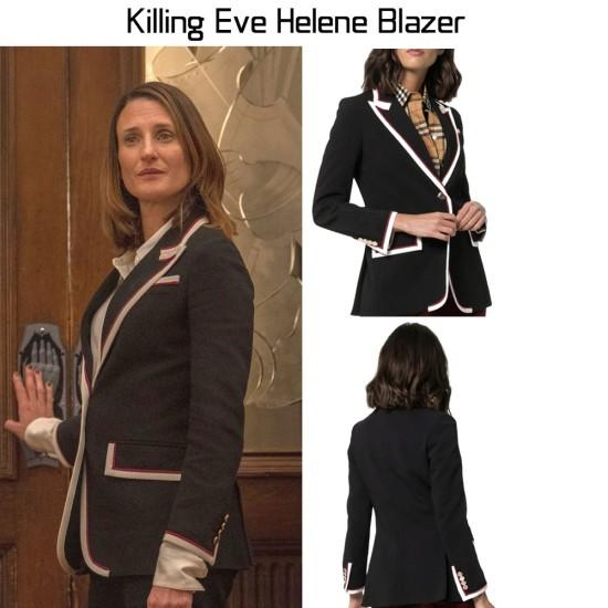 Camille Cottin Killing Eve Blazer