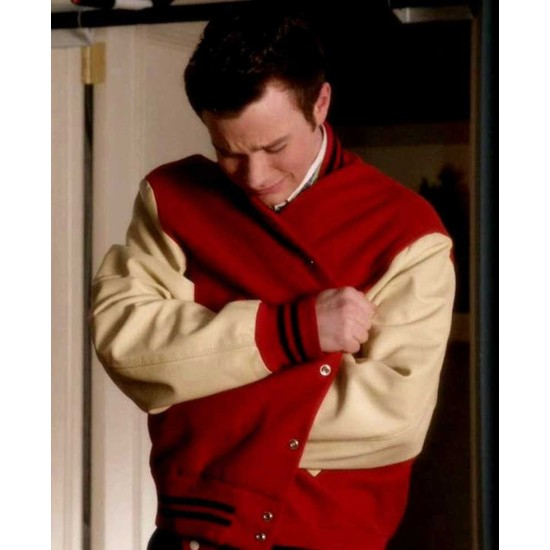 Glee The Break Up Chris Colfer Varsity Jacket