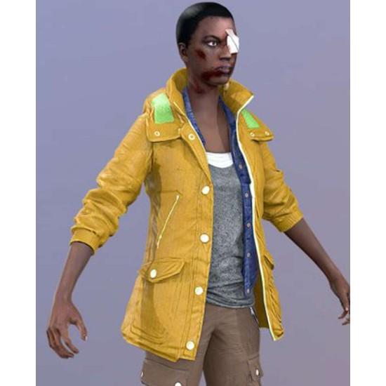 Dead Rising 4 Kylie Hammond Yellow Hoodie
