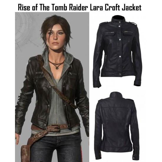 Rise of The Tomb Raider Lara Croft Jacket