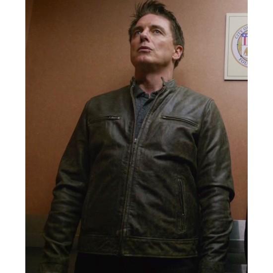 Legends of Tomorrow John Barrowman Brown Leather Jacket
