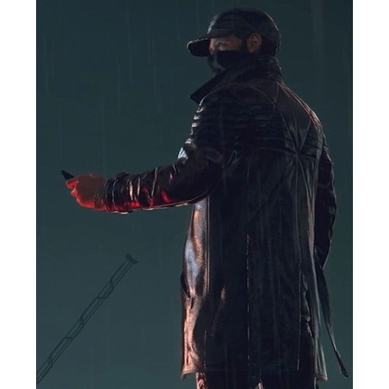 Aiden Pearce Watch Dogs Legion Leather Coat