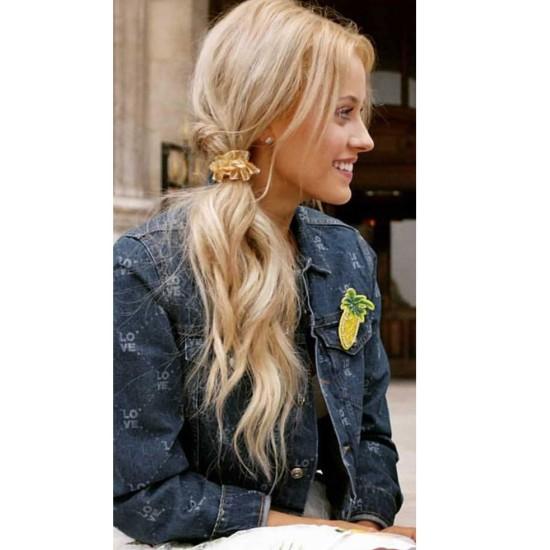 Find Me in Paris Jessica Lord Denim Blue Jacket