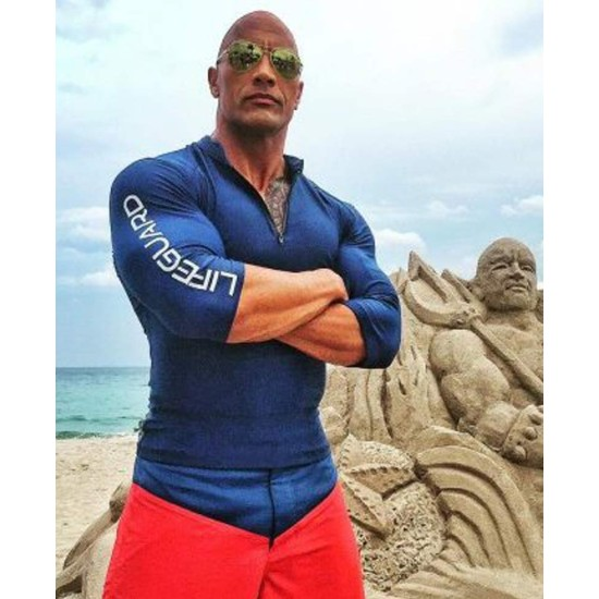 Dwayne Johnson Baywatch Mitch Buchannon T-Shirt