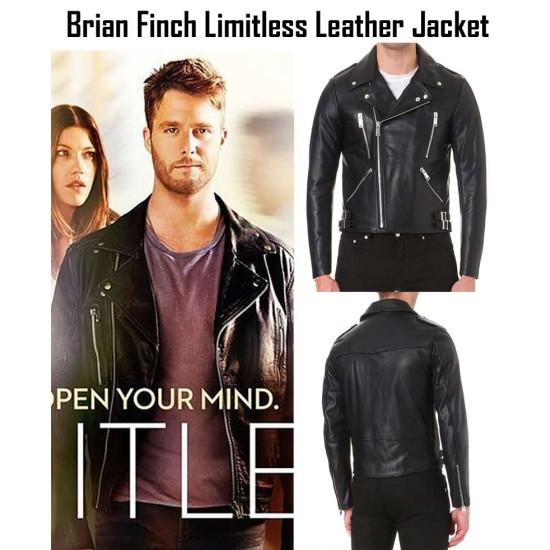 Brian Finch Limitless TV Series Jake McDorman Jacket