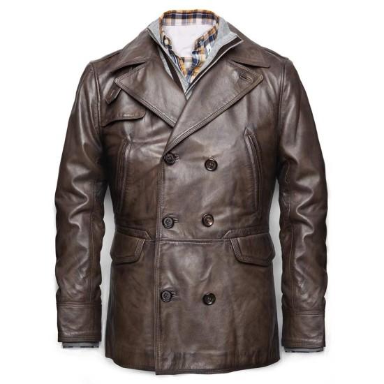 Ben Affleck Live By Night Joe Coughlin Leather Jacket