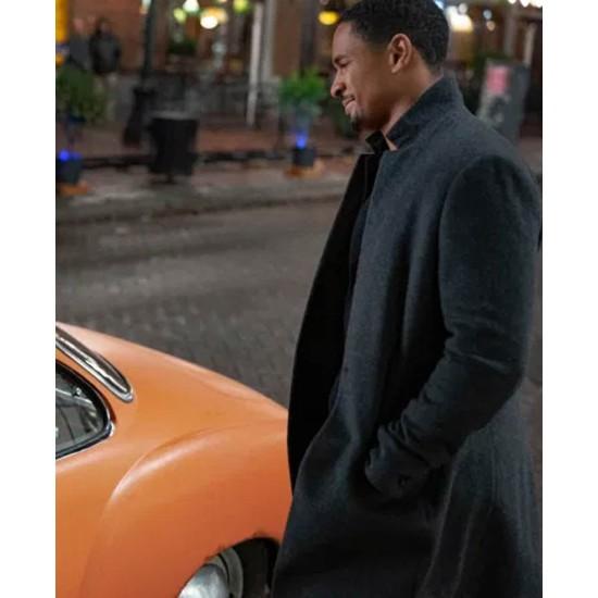 Damon Wayans Jr Love Guaranteed Black Coat
