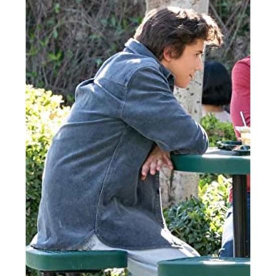 Anthony Turpel Love Victor Blue Corduroy Jacket