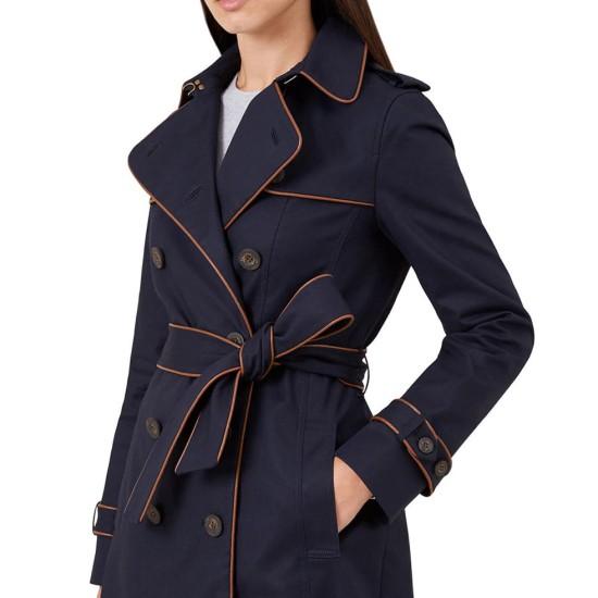Black Lightning Christine Adams Blue Coat