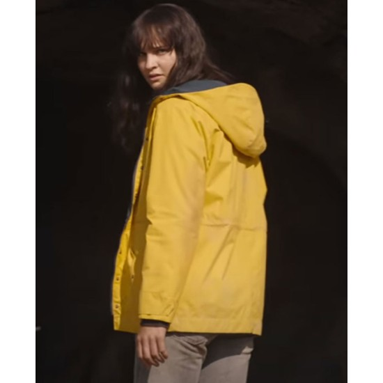 Dark Maja Schone Yellow Coat