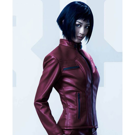 Ghost In The Shell Arise Major Leather Jacket