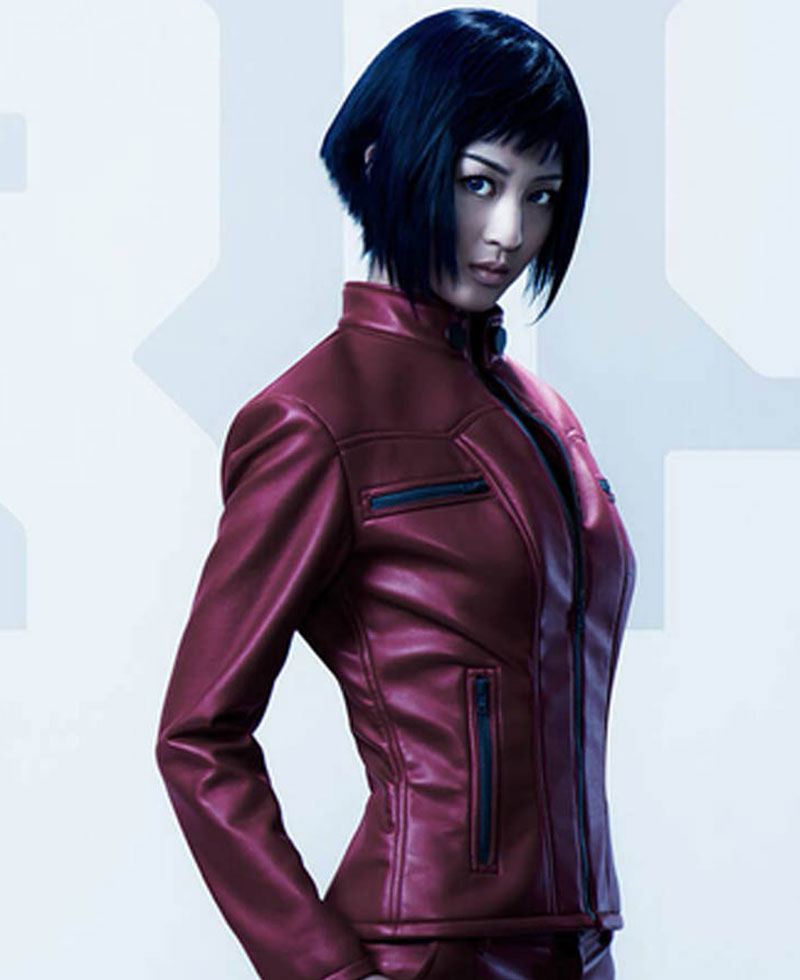 Major Ghost In The Shell Arise Motoko Kusanagi Jacket Films Jackets