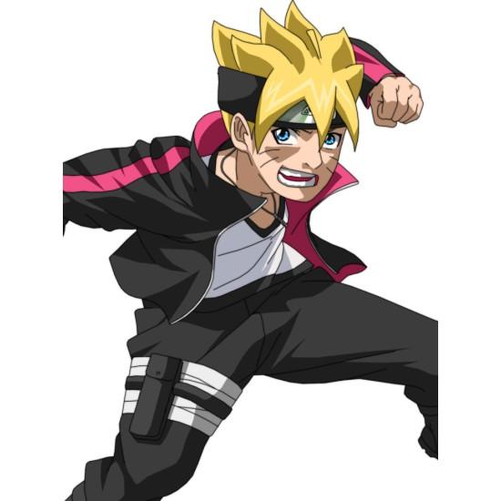 Boruto Uzumaki Naruto Black Jacket