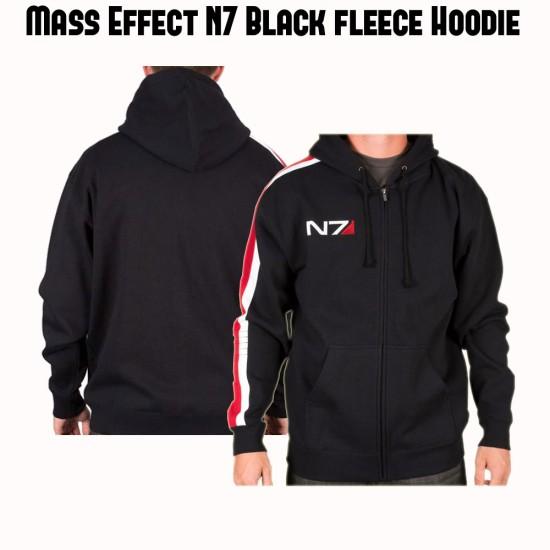 Mass Effect N7 Black Hoodie