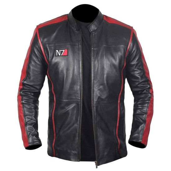 N7 Mass Effect 3 Leather Jacket