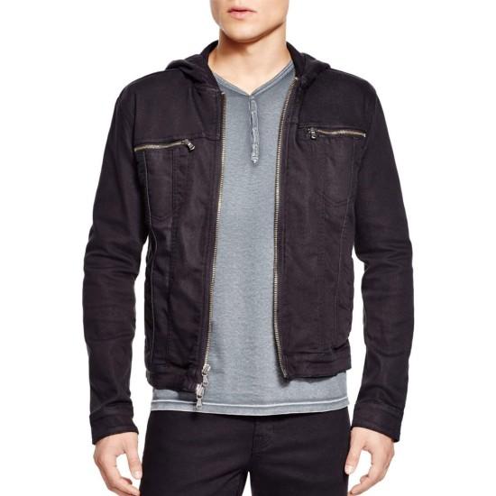 The Resident S04 Matt Czuchry Denim Black Jacket