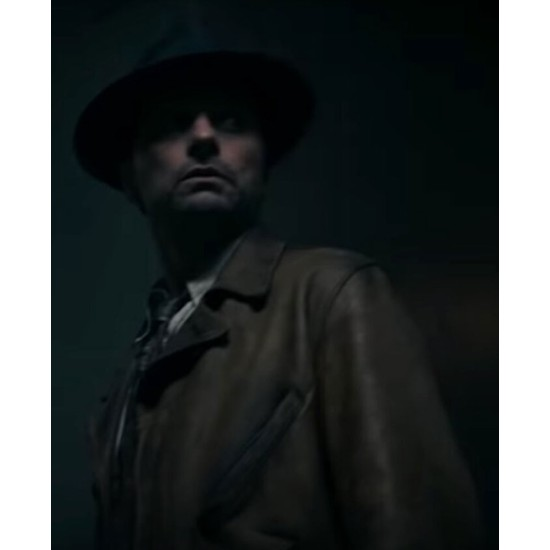 Matthew Rhys Perry Mason Brown Jacket