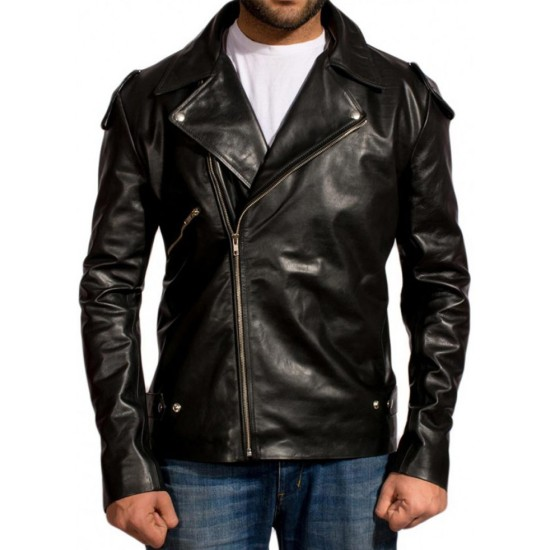 Mel Gibson Mad Max Max Rockatansky Leather Jacket