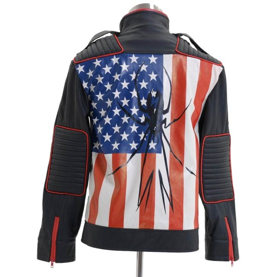 MCR Danger Days Jet Star Leather Jacket