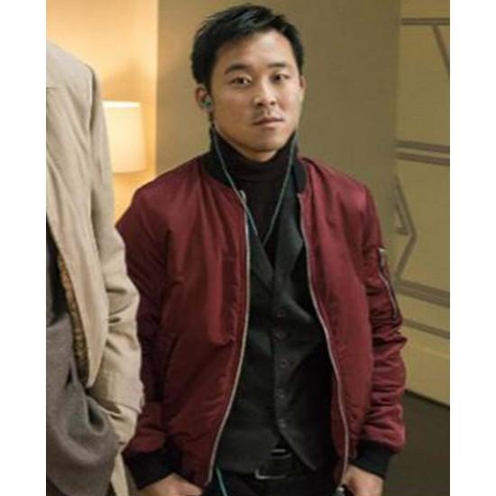 Andy Yu Fargo Red Jacket