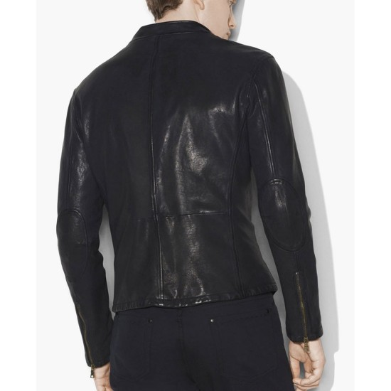Men's Motocross Classic Leather Jacket
