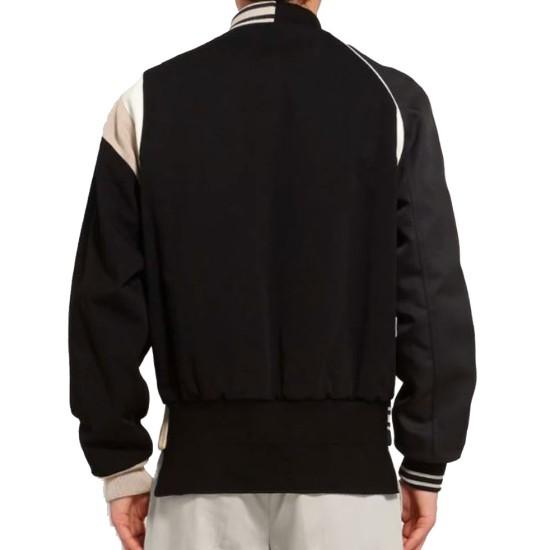 Men's Maison Margiela Varsity Bomber Black Jacket