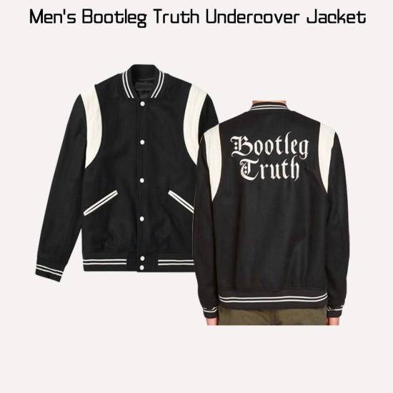 Bootleg Truth Undercover Bomber Black Jacket