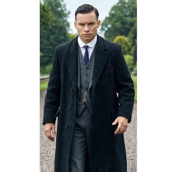 Michael Gray Peaky Blinders Black Coat