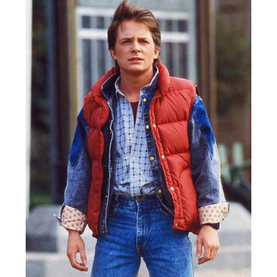 Michael J Fox Back To The Future Vest