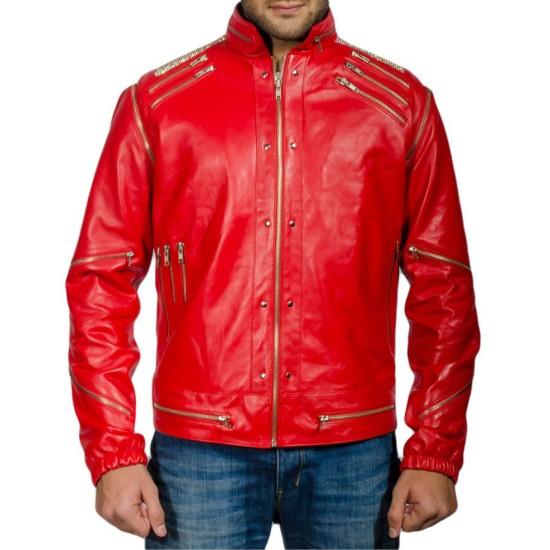 Beat It Michael Jackson Red Jacket