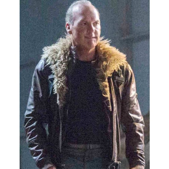 Spiderman Homecoming Vulture Leather Jacket