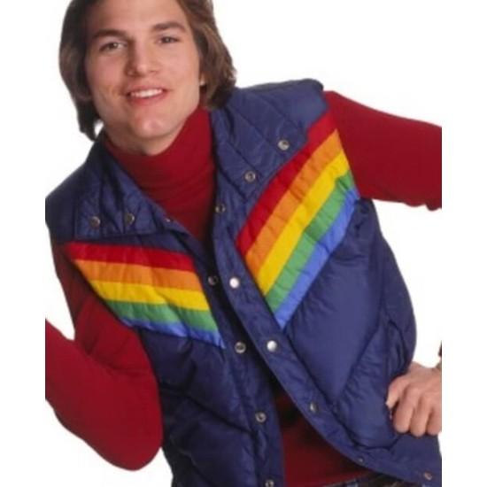 Ashton Kutcher That 70s Vest