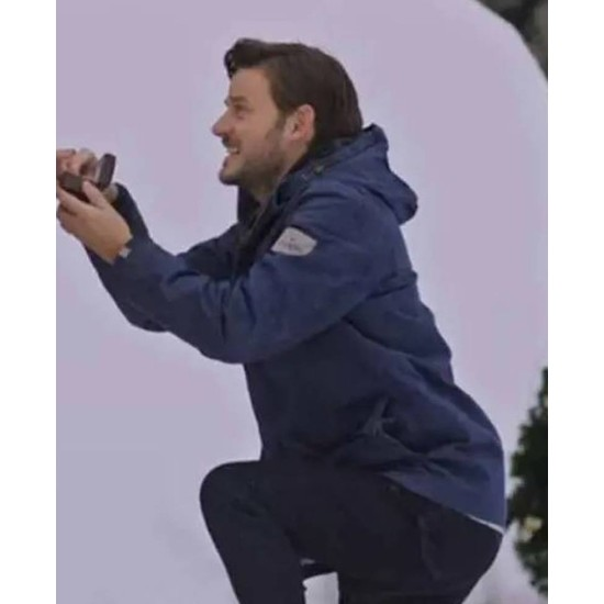 Evan Williams Midnight at the Magnolia Blue Hooded Jacket